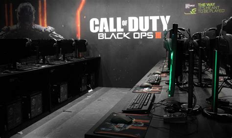 black ops pc playable nvidia booth