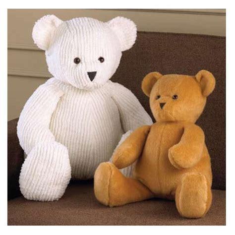 pattern for a fabric teddy bear kwik sew teddy bears pattern