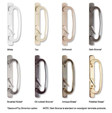 Door Knobs Lock by Door Hardware Simonton Windows Doors