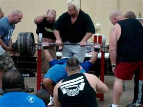 800 lbs world record bench press set 9 10 11 275 weight
