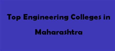 Top 10 Mba Colleges In Maharashtra 2015 by Top Engineering Colleges In Maharashtra 2015 2016 Exacthub