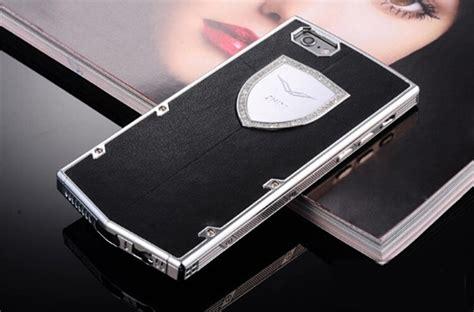 Op5093 Luxury Black Gold Leather For Iphone Kode Bi buy wholesale vertu swarovski bling metal leather cover