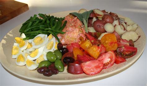 ina garten nicoise salmon nicoise salad marin homestead