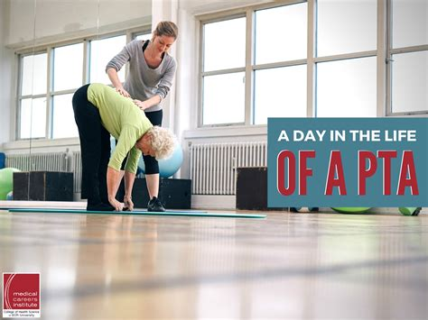 Mba And Physical Therapy Programs by Working In Physical Therapy A Day In The Of A Pta