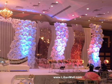 wedding decoration ideas lebanon found my backdrop weddings in