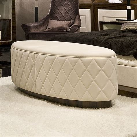 leather oval ottoman ottomans and benches gt benches ottomans gt oval