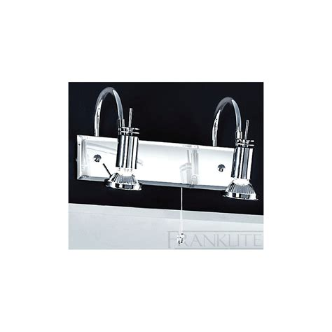 polished chrome bathroom mirrors franklite spot8822 polished chrome bathroom mirror light