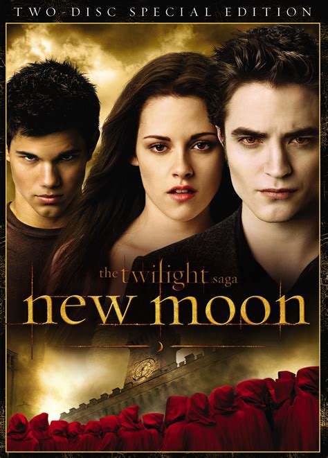 twilight new moon high resolution dvd cover from the twilight saga new moon plus what extras are