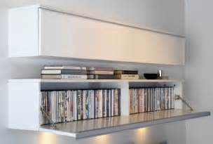 Wall Hanging Dvd Storage Besta Burs Wall Shelf Living Room Pinterest