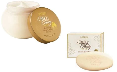 Milk Honey Soap Bar Oriflame souq oriflame set of milk and honey gold and