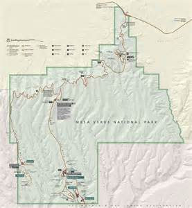 mesa verde colorado map map of mesa verde national park mesa verde map