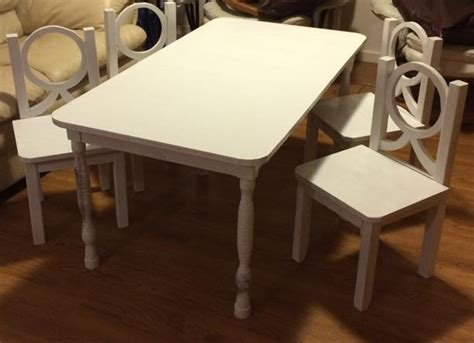 shabby chic childrens table and chairs shabby chic table elon s