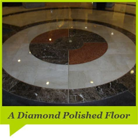Diamond Polishing on Marble and Natural Stone Floors