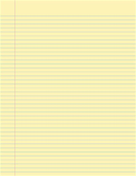 yellow writing paper printable handwriting paper templates with lines