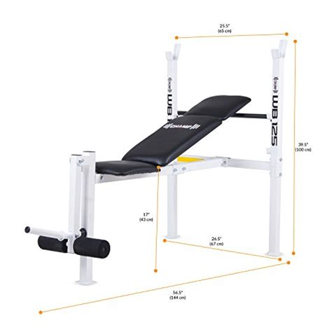 beginner weight bench set body ch wb125 pro spirit standard weight bench