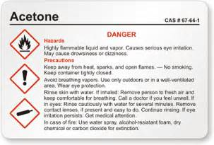Chemical Label Template by Custom Hazcom Labels Nfpa Hmis Hmig Ghs And Ansi Templates
