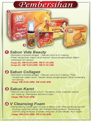 Sabun Collagen Vida ff house vida
