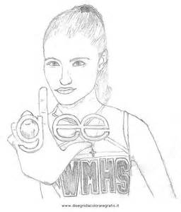 glee glee colouring pages