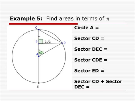 area of circle section ppt section 7 7 circles area of circles sectors and