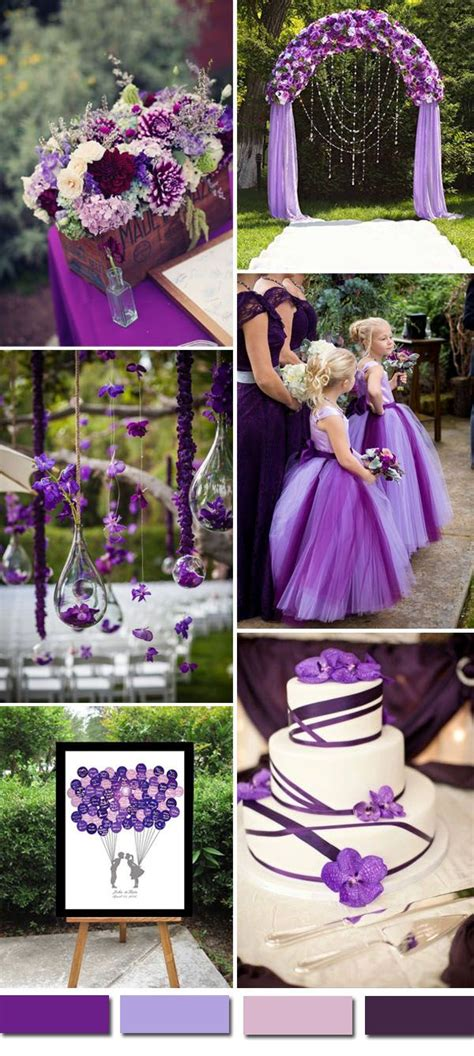 the color purple themes 139 best purple wedding colors images on lilac