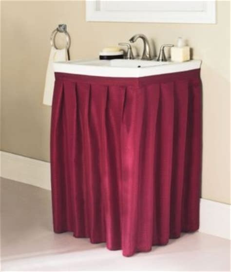 Bathroom Sink Skirt Nancy S Interiors Pinterest Bathroom Sink Skirt