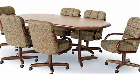 Chromcraft Caster Chair Dining   Room Concepts