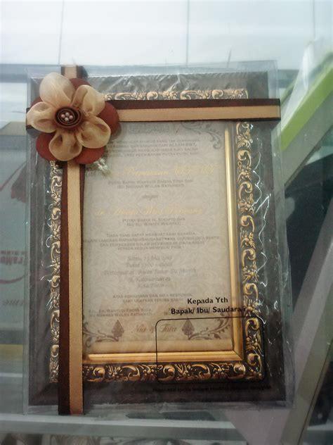 Wedding Frame Pigura Pigura Untuk Undangan Pernikahan Pigura And Frames