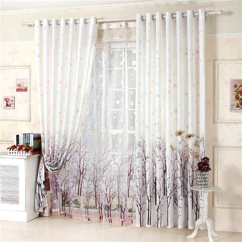 curtains tree design ready made rural garden curtains lau xuerun windows semi