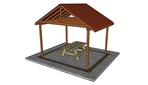 Outdoor Shelter Plans | how to build a pizza oven shelter howtospecialist how