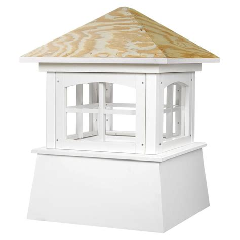 cupola roof directions brookfield vinyl cupola with wood roof 42