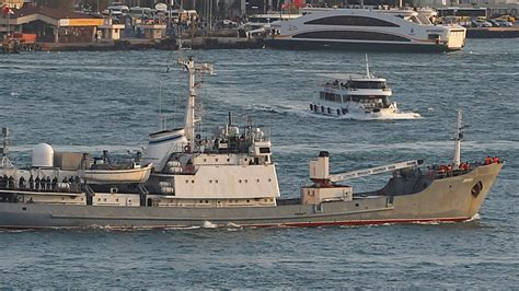 russian spy boat russian spy ship sunk by cargo boat world the times