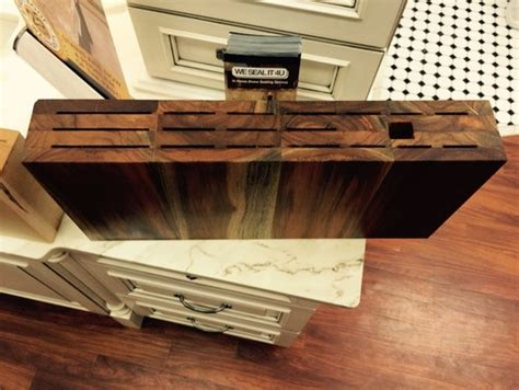 drawer knife block nz custom teak knife block available in teak oak and maple