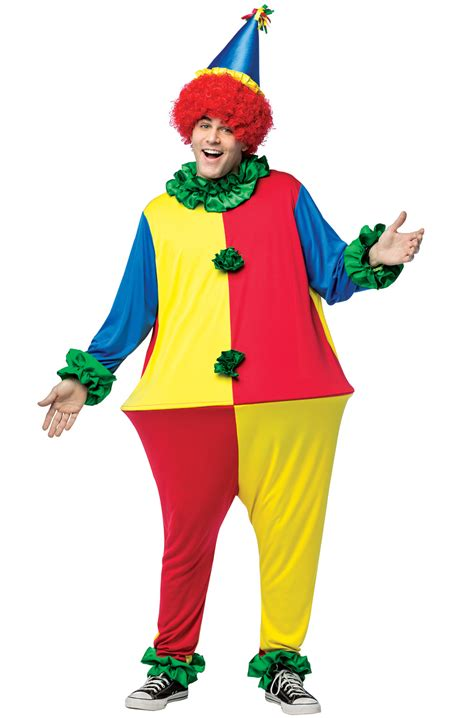 clown colors primary color clown hoopster costume purecostumes