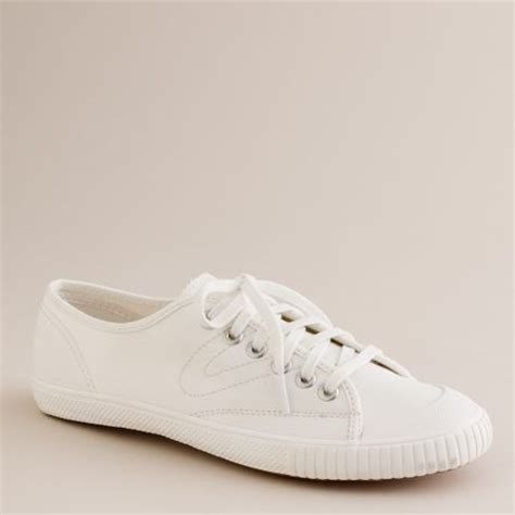 j crew s tretorn 174 canvas t56 sneakers in white