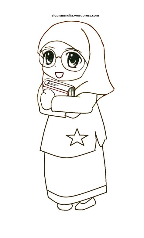 Musim Anak kumpulan gambar anak kecil muslim kartun kantor meme