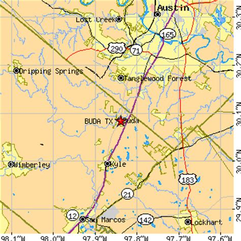map of buda texas buda texas tx population data races housing economy