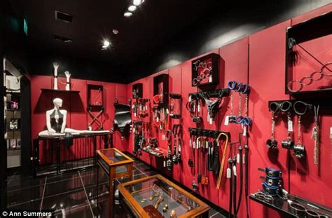 red room ann summers unveils a fifty shades inspired red room