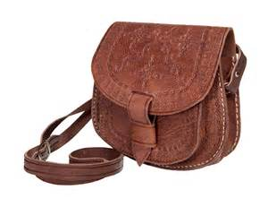 Home Goods Rugs Sale Zagora Leather Crossbody Bag Brown Moroccan Buzz