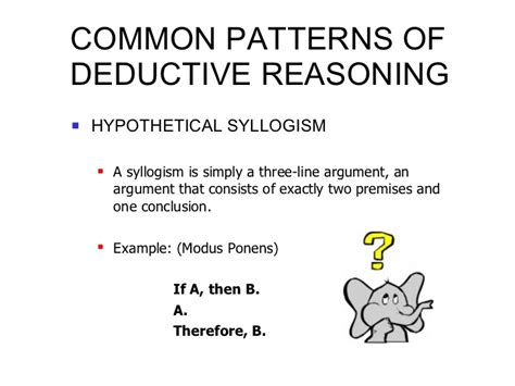 deductive pattern paragraph exles analysis inductive and deductive arguments