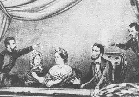 assassination of abe lincoln csmh history class 1865 abraham lincoln assassinated