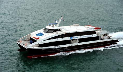 fast boat names damen fast ferry 4212 quot sunrise quot