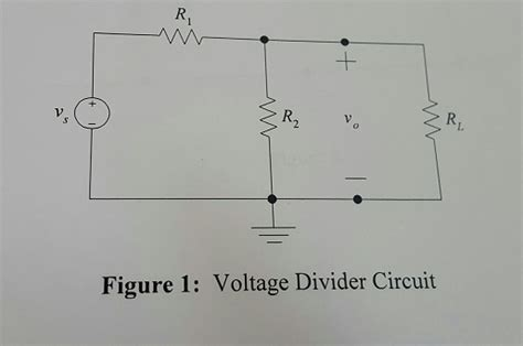 voltage divider integrated circuit for the following circuit vs 10 v r1 10 kohms chegg