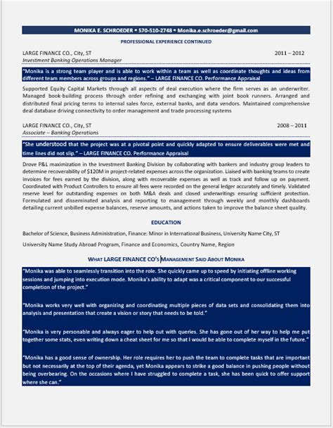U S Resume by General Manager Resume U S 2011