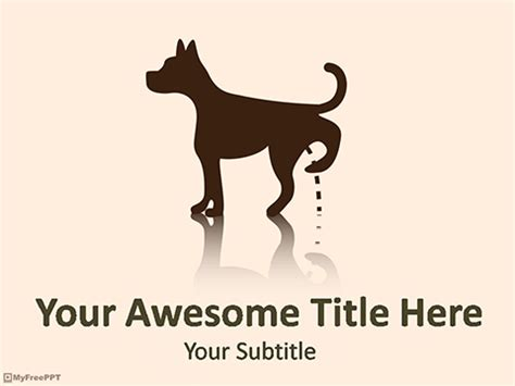 free puppy powerpoint templates myfreeppt com