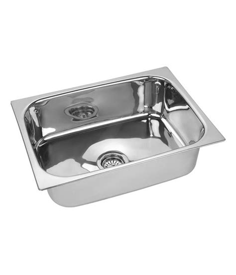 square kitchen sinks buy sanitop kitchen sink square bowl 24 x 18 x 9