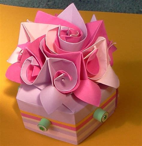 Origami Special - origami box special by on deviantart