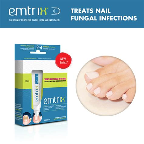 Emtrix Solution 10ml nail fungus the skiny