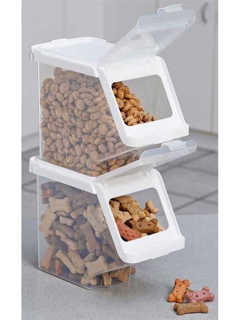 treat container stackable pet food storage best storage design 2017