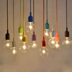 Design Ideas For Battery Operated Ceiling Light Concept Aliexpress Buy Muuto E27 E26 Pendant Light Design By Mattias Stahlbom Colorful Silicone