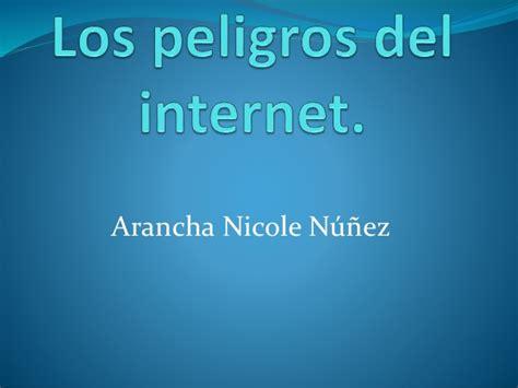 los peligro del deleite 0789920557 los peligros del internet nicole